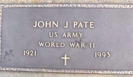 PATE (VETERAN WWII), JOHN J - White County, Arkansas | JOHN J PATE (VETERAN WWII) - Arkansas Gravestone Photos