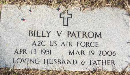 PATROM (VETERAN), BILLY V - White County, Arkansas | BILLY V PATROM (VETERAN) - Arkansas Gravestone Photos