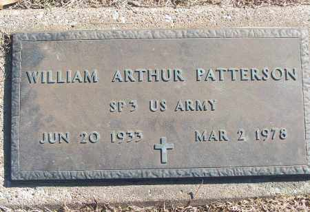 PATTERSON (VETERAN), WILLIAM ARTHUR - White County, Arkansas | WILLIAM ARTHUR PATTERSON (VETERAN) - Arkansas Gravestone Photos