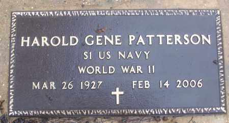 PATTERSON (VETERAN WWII), HAROLD GENE - White County, Arkansas | HAROLD GENE PATTERSON (VETERAN WWII) - Arkansas Gravestone Photos