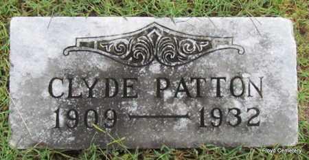 PATTON, CLYDE - White County, Arkansas | CLYDE PATTON - Arkansas Gravestone Photos