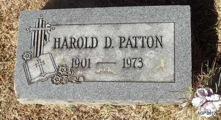PATTON, HAROLD D - White County, Arkansas   HAROLD D PATTON - Arkansas Gravestone Photos