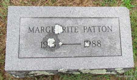 PATTON, MARGUERITE - White County, Arkansas | MARGUERITE PATTON - Arkansas Gravestone Photos