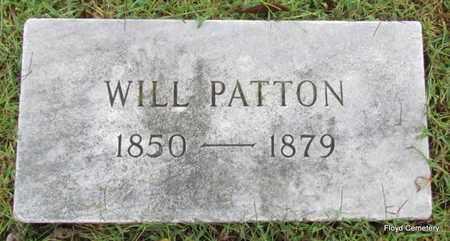 PATTON, WILL - White County, Arkansas | WILL PATTON - Arkansas Gravestone Photos