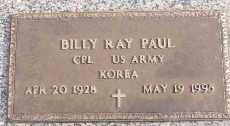 PAUL (VETERAN KOR), BILLY RAY - White County, Arkansas | BILLY RAY PAUL (VETERAN KOR) - Arkansas Gravestone Photos