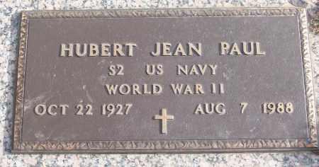 PAUL (VETERAN WWII), HUBERT JEAN - White County, Arkansas | HUBERT JEAN PAUL (VETERAN WWII) - Arkansas Gravestone Photos