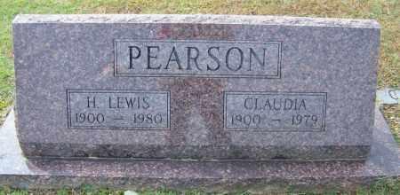 PEARSON, H LEWIS - White County, Arkansas | H LEWIS PEARSON - Arkansas Gravestone Photos