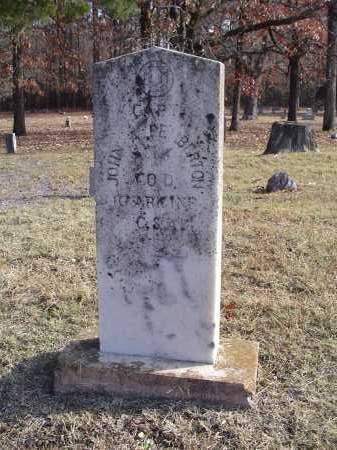 PEMBERTON (VETERAN CSA), JOHN A - White County, Arkansas | JOHN A PEMBERTON (VETERAN CSA) - Arkansas Gravestone Photos