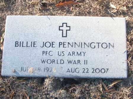 PENNINGTON (VETERAN WWII), BILLIE JOE - White County, Arkansas | BILLIE JOE PENNINGTON (VETERAN WWII) - Arkansas Gravestone Photos