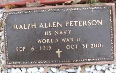 PETERSON (VETERAN WWII), RALPH ALLEN - White County, Arkansas   RALPH ALLEN PETERSON (VETERAN WWII) - Arkansas Gravestone Photos