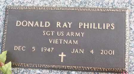 PHILLIPS (VETERAN VIET), DONALD RAY - White County, Arkansas | DONALD RAY PHILLIPS (VETERAN VIET) - Arkansas Gravestone Photos