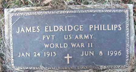 PHILLIPS (VETERAN WWII), JAMES ELDRIDGE - White County, Arkansas | JAMES ELDRIDGE PHILLIPS (VETERAN WWII) - Arkansas Gravestone Photos