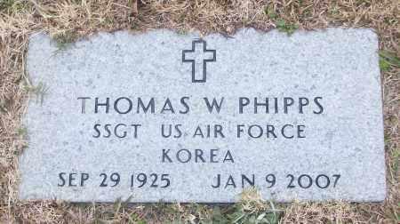 PHIPPS (VETERAN KOR), THOMAS W - White County, Arkansas | THOMAS W PHIPPS (VETERAN KOR) - Arkansas Gravestone Photos