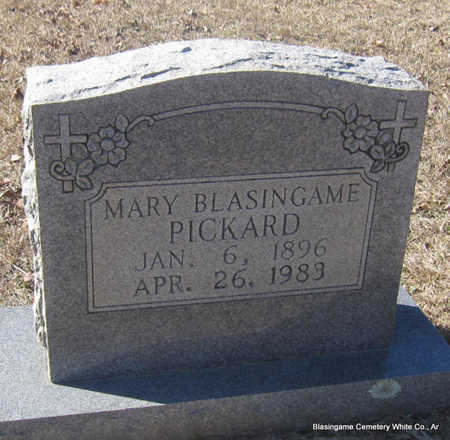 PICKARD, MARY - White County, Arkansas | MARY PICKARD - Arkansas Gravestone Photos