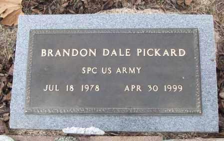 PICKARD (VETERAN), BRANDON DALE - White County, Arkansas | BRANDON DALE PICKARD (VETERAN) - Arkansas Gravestone Photos