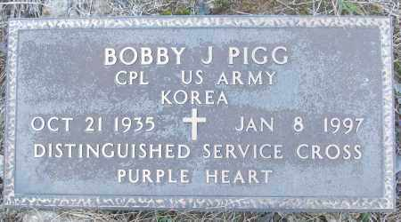 PIGG (VETERAN KOR), BOBBY J - White County, Arkansas   BOBBY J PIGG (VETERAN KOR) - Arkansas Gravestone Photos