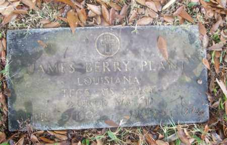 PLANT  (VETERAN WWII), JAMES BERRY - White County, Arkansas   JAMES BERRY PLANT  (VETERAN WWII) - Arkansas Gravestone Photos