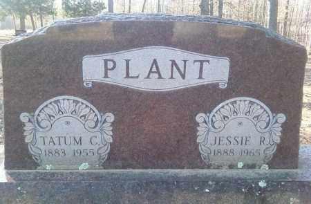 PLANT, TATUM C - White County, Arkansas   TATUM C PLANT - Arkansas Gravestone Photos