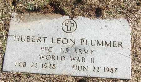PLUMMER (VETERAN WWII), HUBERT LEON - White County, Arkansas | HUBERT LEON PLUMMER (VETERAN WWII) - Arkansas Gravestone Photos