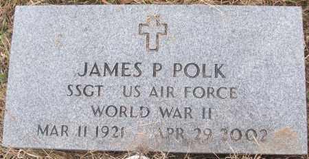 POLK (VETERAN WWII), JAMES P - White County, Arkansas | JAMES P POLK (VETERAN WWII) - Arkansas Gravestone Photos