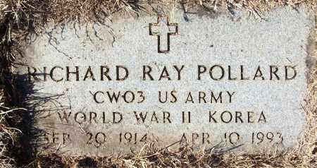 POLLARD (VETERAN 2 WARS), RICHARD RAY - White County, Arkansas   RICHARD RAY POLLARD (VETERAN 2 WARS) - Arkansas Gravestone Photos