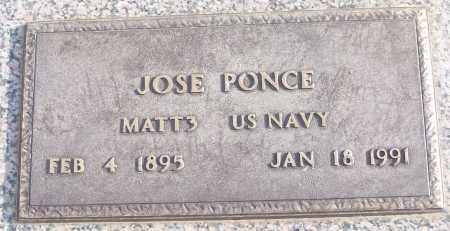 PONCE (VETERAN), JOSE - White County, Arkansas | JOSE PONCE (VETERAN) - Arkansas Gravestone Photos