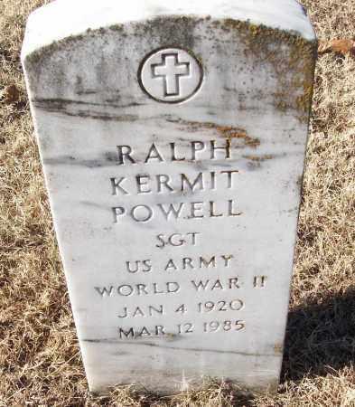 POWELL (VETERAN WWII), RALPH KERMIT - White County, Arkansas | RALPH KERMIT POWELL (VETERAN WWII) - Arkansas Gravestone Photos