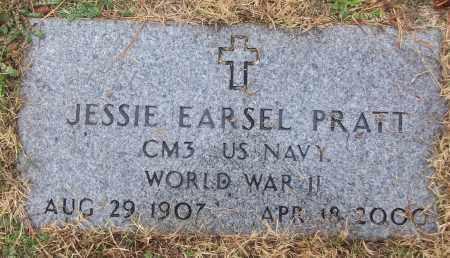 PRATT (VETERAN WWII), JESSIE EARSEL - White County, Arkansas | JESSIE EARSEL PRATT (VETERAN WWII) - Arkansas Gravestone Photos