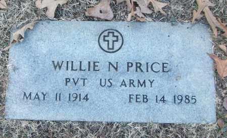 PRICE (VETERAN), WILLIE N - White County, Arkansas   WILLIE N PRICE (VETERAN) - Arkansas Gravestone Photos