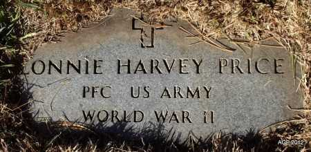 PRICE (VETERAN WWII), LONNIE HARVEY - White County, Arkansas | LONNIE HARVEY PRICE (VETERAN WWII) - Arkansas Gravestone Photos