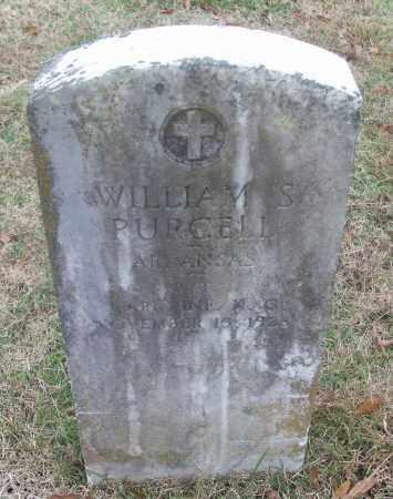 PURCELL  (VETERAN), WILLIAM S - White County, Arkansas | WILLIAM S PURCELL  (VETERAN) - Arkansas Gravestone Photos