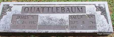 QUATTLEBAUM, JAMES O - White County, Arkansas | JAMES O QUATTLEBAUM - Arkansas Gravestone Photos