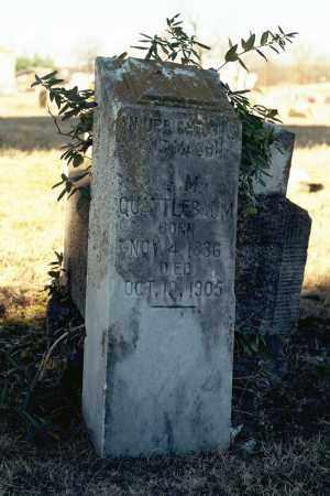 QUATTLEBAUM, OLIVER MOORE - White County, Arkansas   OLIVER MOORE QUATTLEBAUM - Arkansas Gravestone Photos