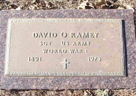 RAMEY (VETERAN WWI), DAVID O - White County, Arkansas   DAVID O RAMEY (VETERAN WWI) - Arkansas Gravestone Photos