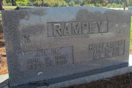 ROGERS RAMPEY, HULDA - White County, Arkansas | HULDA ROGERS RAMPEY - Arkansas Gravestone Photos