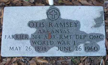 RAMSEY (VETERAN WWI), OTIS - White County, Arkansas | OTIS RAMSEY (VETERAN WWI) - Arkansas Gravestone Photos