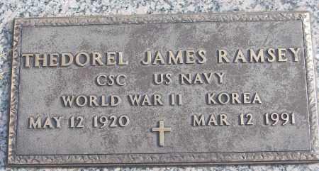 RAMSEY (VETERAN 2 WARS), THEDOREL JAMES - White County, Arkansas | THEDOREL JAMES RAMSEY (VETERAN 2 WARS) - Arkansas Gravestone Photos