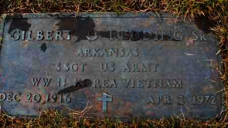 REDDING, SR  (VETERAN 3 WARS), GILBERT O - White County, Arkansas | GILBERT O REDDING, SR  (VETERAN 3 WARS) - Arkansas Gravestone Photos