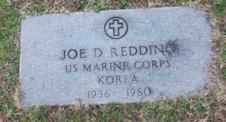 REDDING (VETERAN KOR), JOE D - White County, Arkansas   JOE D REDDING (VETERAN KOR) - Arkansas Gravestone Photos