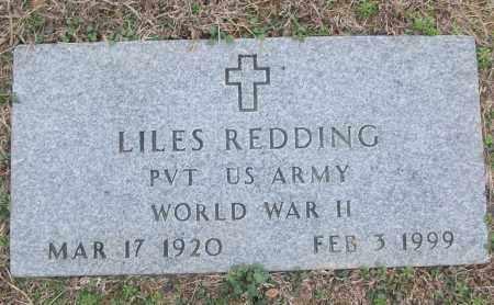 REDDING (VETERAN WWII), LILES - White County, Arkansas | LILES REDDING (VETERAN WWII) - Arkansas Gravestone Photos
