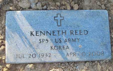 REED (VETERAN KOR), KENNETH - White County, Arkansas   KENNETH REED (VETERAN KOR) - Arkansas Gravestone Photos