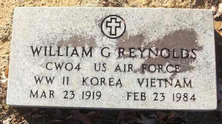 REYNOLDS (VETERAN 3 WARS), WILIAM G - White County, Arkansas | WILIAM G REYNOLDS (VETERAN 3 WARS) - Arkansas Gravestone Photos
