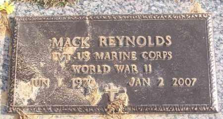 REYNOLDS (VETERAN WWII), MACK - White County, Arkansas | MACK REYNOLDS (VETERAN WWII) - Arkansas Gravestone Photos