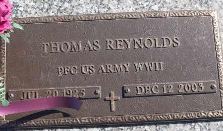 REYNOLDS (VETERAN WWII), THOMAS - White County, Arkansas | THOMAS REYNOLDS (VETERAN WWII) - Arkansas Gravestone Photos
