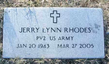 RHODES (VETERAN), JERRY LYNN - White County, Arkansas | JERRY LYNN RHODES (VETERAN) - Arkansas Gravestone Photos