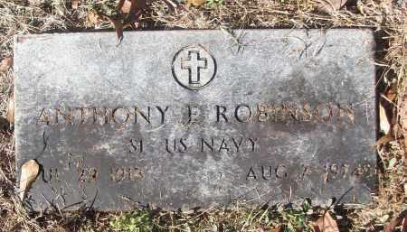 ROBINSON (VETERAN), ANTHONY E - White County, Arkansas | ANTHONY E ROBINSON (VETERAN) - Arkansas Gravestone Photos