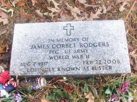 RODGERS  (VETERAN WWII), JAMES CORBET - White County, Arkansas   JAMES CORBET RODGERS  (VETERAN WWII) - Arkansas Gravestone Photos