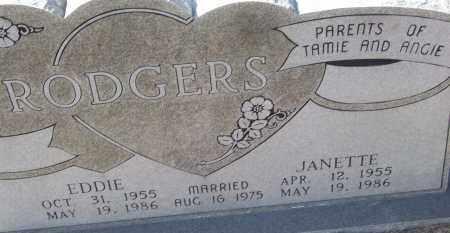 RODGERS, EDDIE - White County, Arkansas   EDDIE RODGERS - Arkansas Gravestone Photos