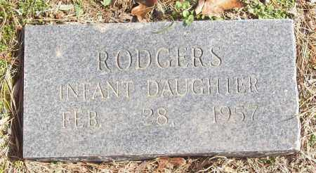 RODGERS, INFANT DAUGHTER - White County, Arkansas | INFANT DAUGHTER RODGERS - Arkansas Gravestone Photos