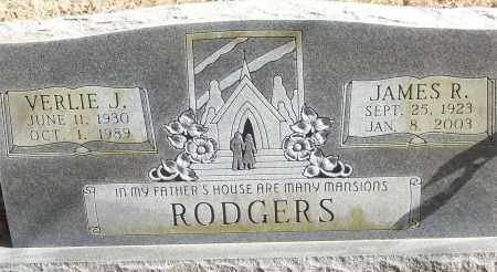 RODGERS, VERLIE J. - White County, Arkansas | VERLIE J. RODGERS - Arkansas Gravestone Photos